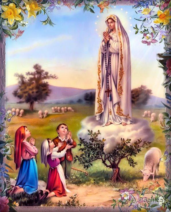 Santa María, Madre de Dios y Madre nuestra: Imágenes