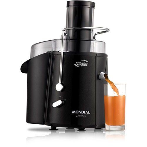 Slow Juicer Mondial Manual :  So Manual Manual Manuais : Manual Centrifuga Juicer Black Mondial 800w