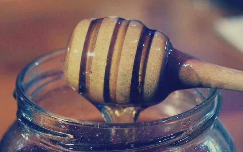 słodki sposób na suchą skórę