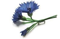 silk flowers, millinery flowers, hand painted silk flowers, handmade flowers, hat decoration, meadow flowers