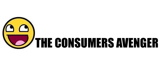 The Consumers Avenger!