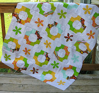 Bowtie and Fun Flower AccuQuilt dies for quilt