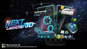 Next Launcher 3D 2.0 Final Patched apk download