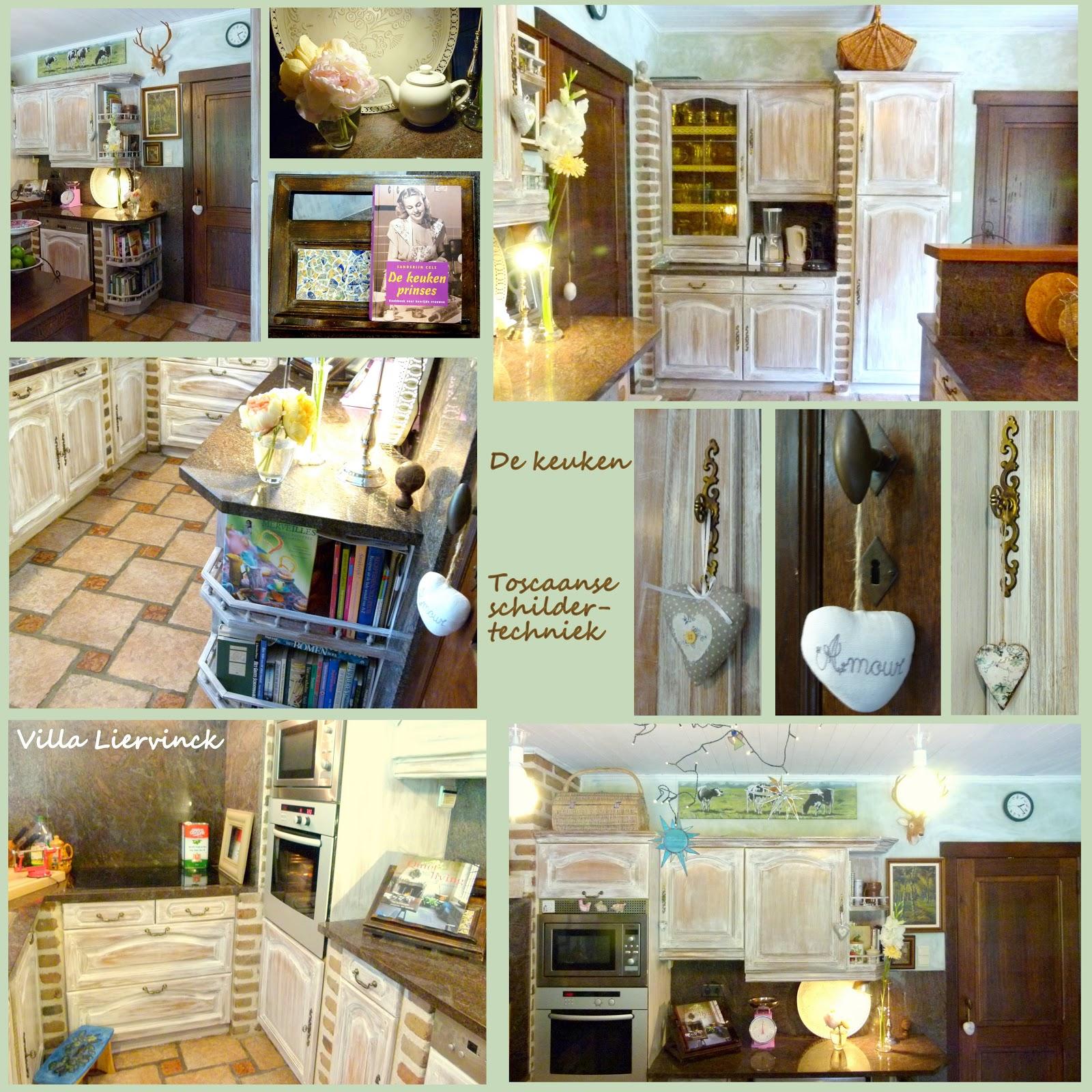 Villa liervinck: de keuken of toscaans schilderen