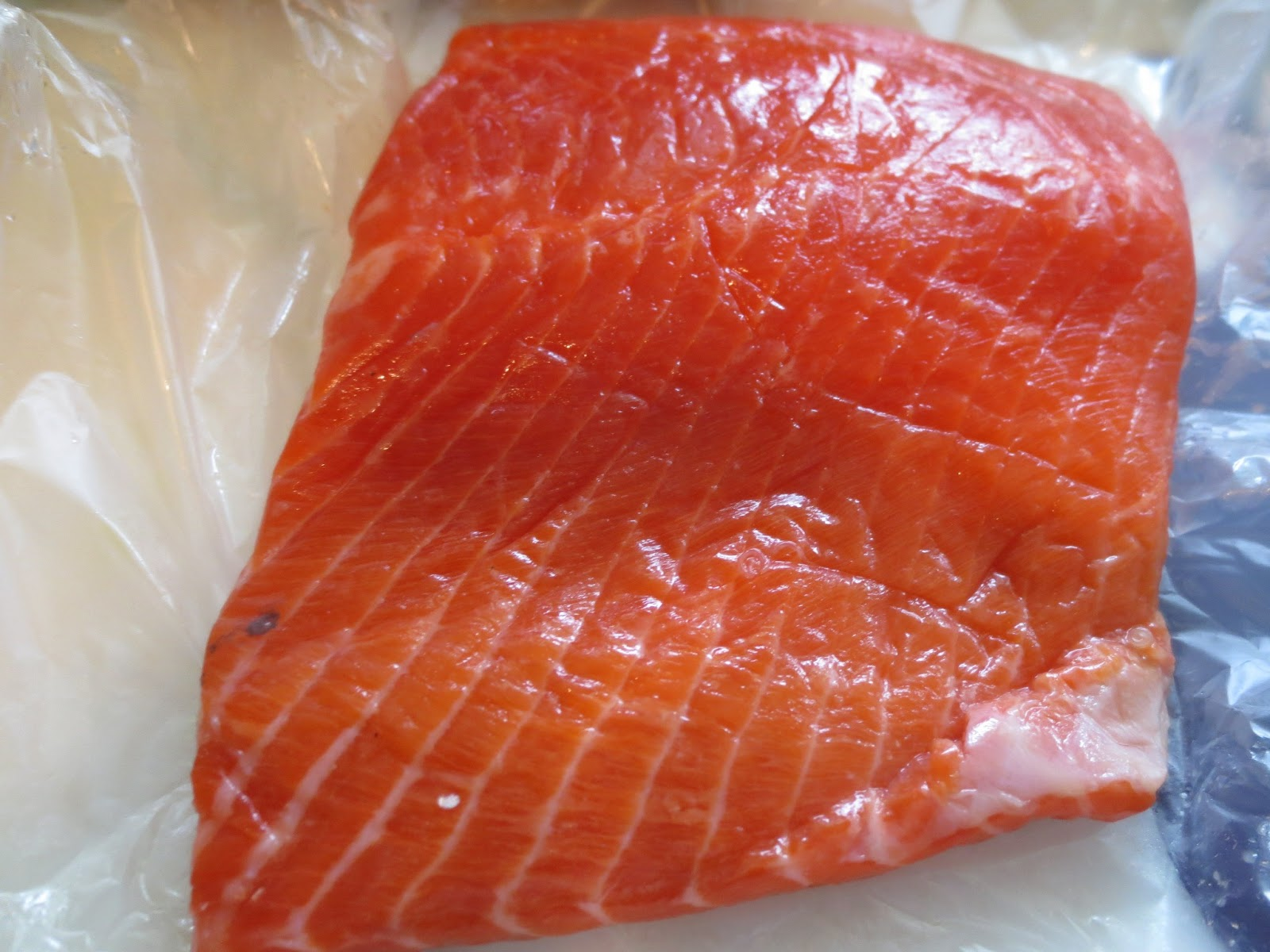 The Owl with the Goblet: Copper River Salmon with Brown Sugar Soy ...
