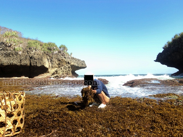 Pantai Sedahan Cawet