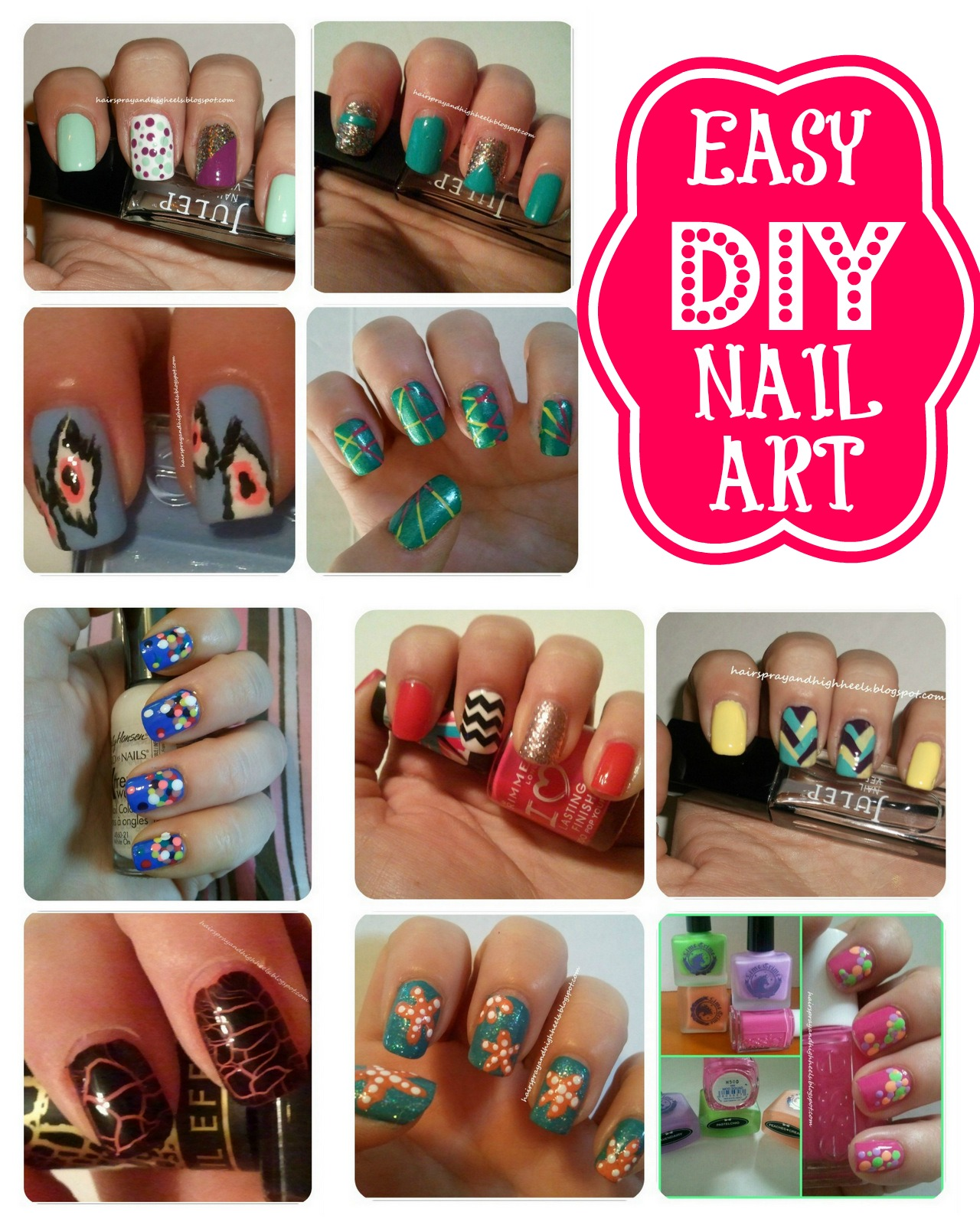 February 2013 archives hairspray and highheels - Nail art designs in home ...