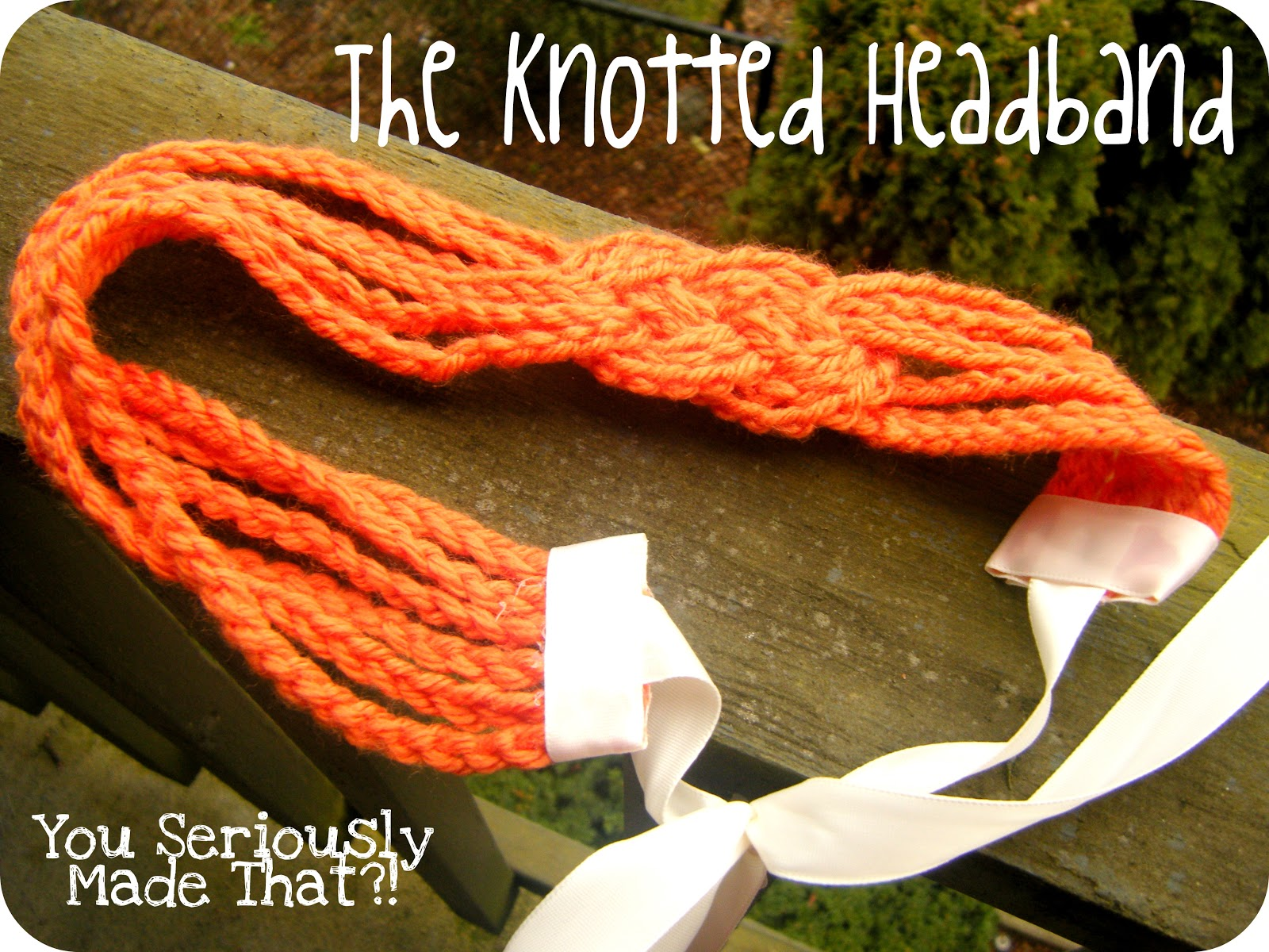 You seriously made that the knotted headband tutorial the knotted headband tutorial baditri Image collections