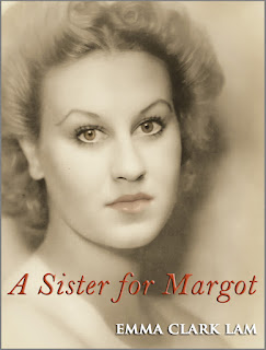 Book cover for Kindle novel, 'A Sister for Margot' by Emma Clark Lam