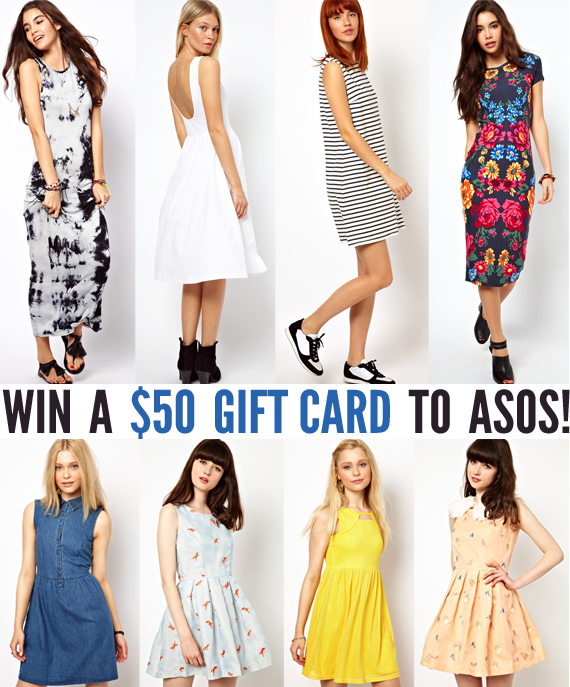 Win a $50 ASOS Gift Card from Bubby & Bean!