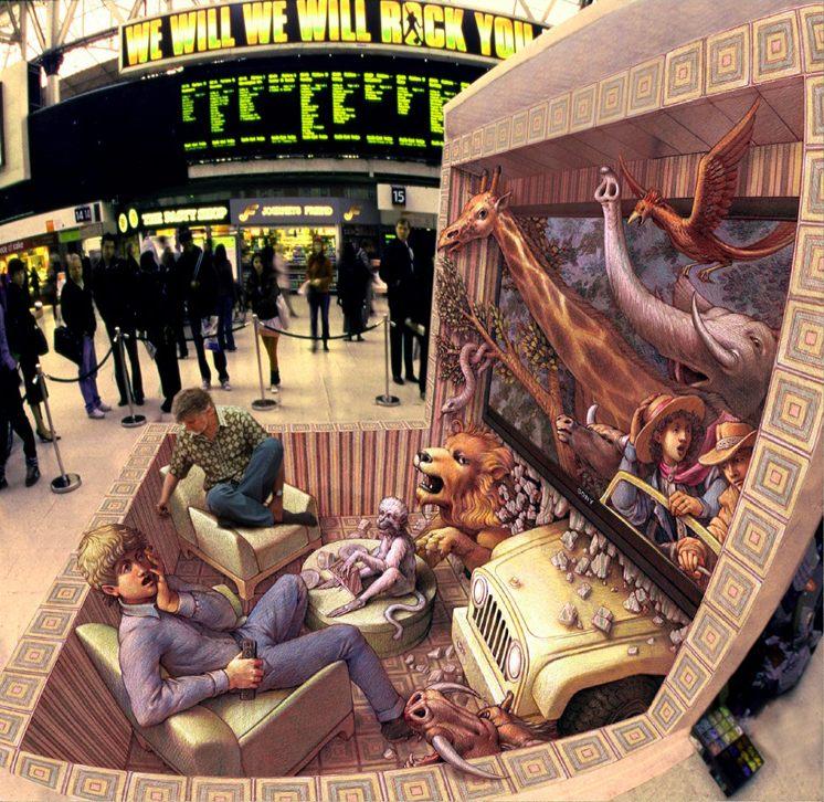 12-Armchair-Traveler-Kurt-Wenner-3D-Street-Pavement-Art-Painting-www-designstack-co
