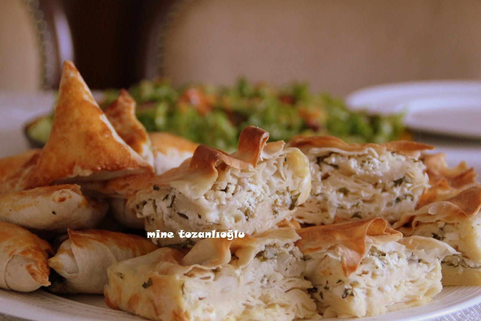 Mikrodalga Fırında Peynirli Börek