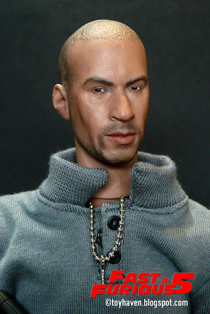 Vin Diesel And His Twin Brother http://toyhaven.blogspot.com/2011/07/kitbash-16-vin-diesel-as-dominic-dom.html