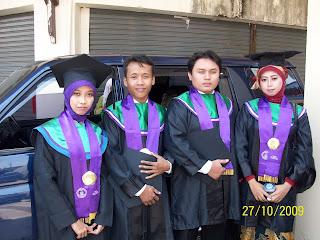 Wisuda Mahasiswa Jurusan Bahasa Inggris