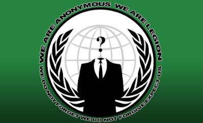 Penggodam Anonymous disyaki serang laman web pertahanan Israel