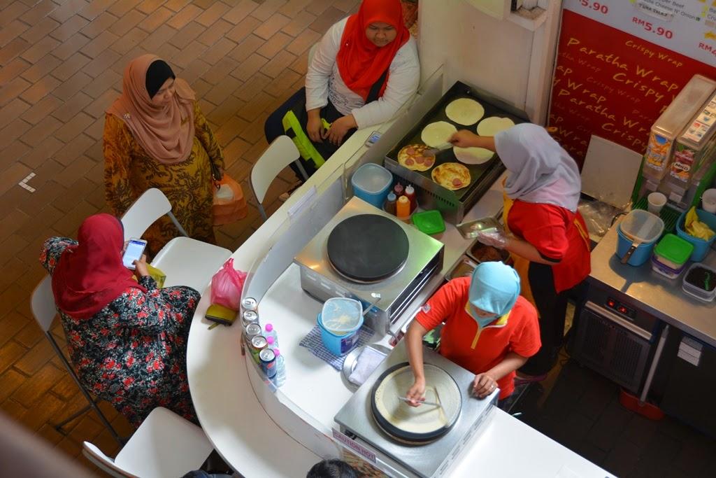Central Market Kuala Lumpur pancake
