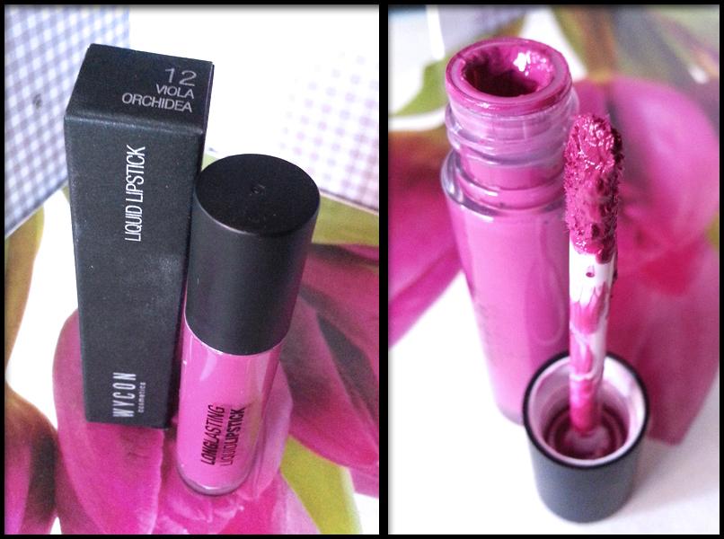 She wore shiseido red recensione wycon liquid lipstick n for Nuovo stelo orchidea