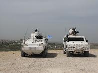 I BASCHI ITALIANI SORVEGLIANO IL MEETING TRA ISRAELE E LIBANO