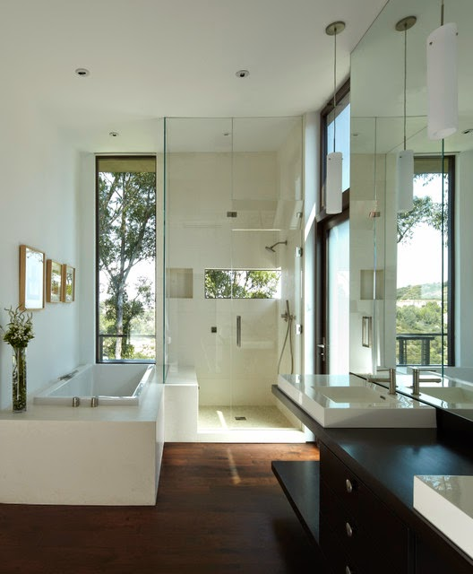 Diseno De Baño Principal:Modern Bathroom Shower Room