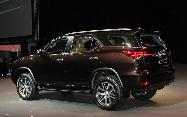 All New Toyota Fortuner 2015 Brown