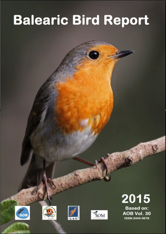 Balearic Bird Report - BBR num. 30, 2015