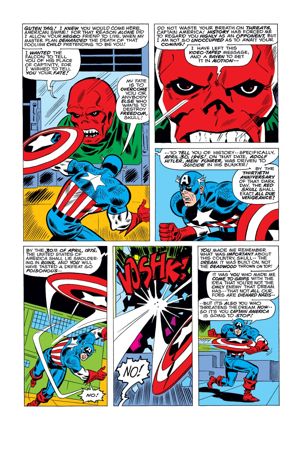 Captain America (1968) Issue #184 #98 - English 4