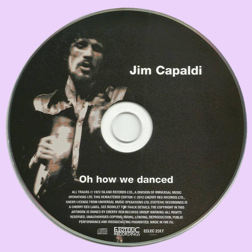 Jim Capaldi Electric Nights