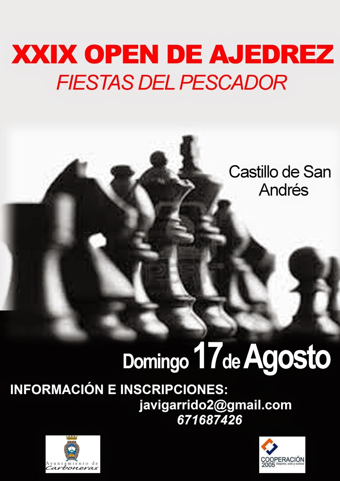 """OPEN INTERNACIONAL """"FIESTAS DEL PESCADOR"""" DE CARBONERAS"""