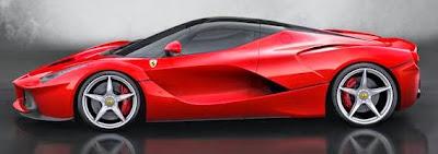 Ferrari LaFerrari – Top kecepatan 220 mph