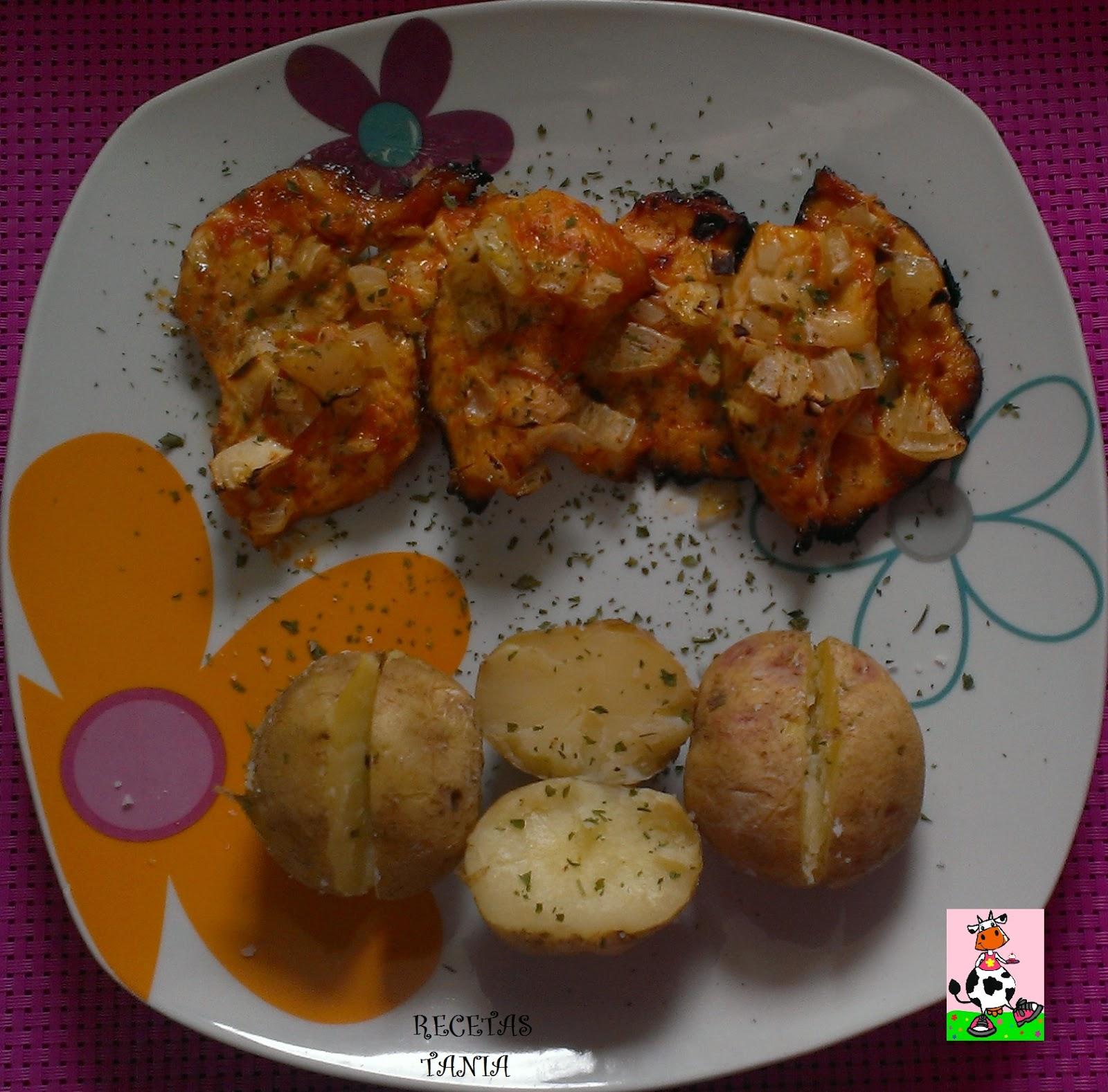 Recetas tania pechuga de pollo con salsa barbacoa for Salsa barbacoa ingredientes