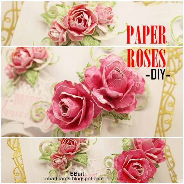 PAPER ROSES- DIY