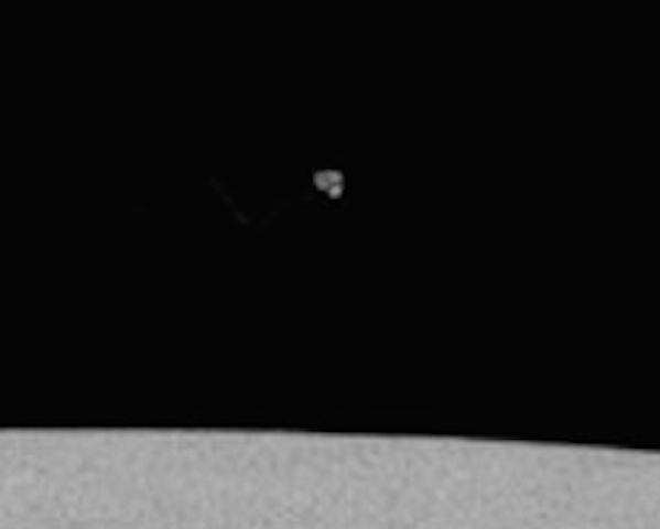Triangle UFO Seen On Moon During Apollo 15 Mission, UFO Sightings