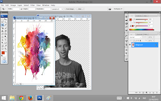 Tekstur Water Color