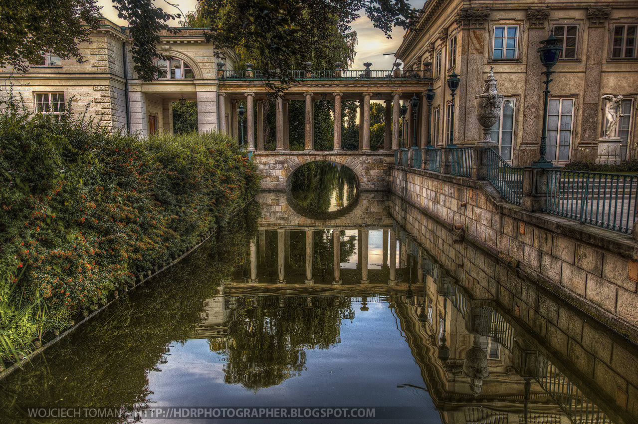 Water Palace in Warsaw