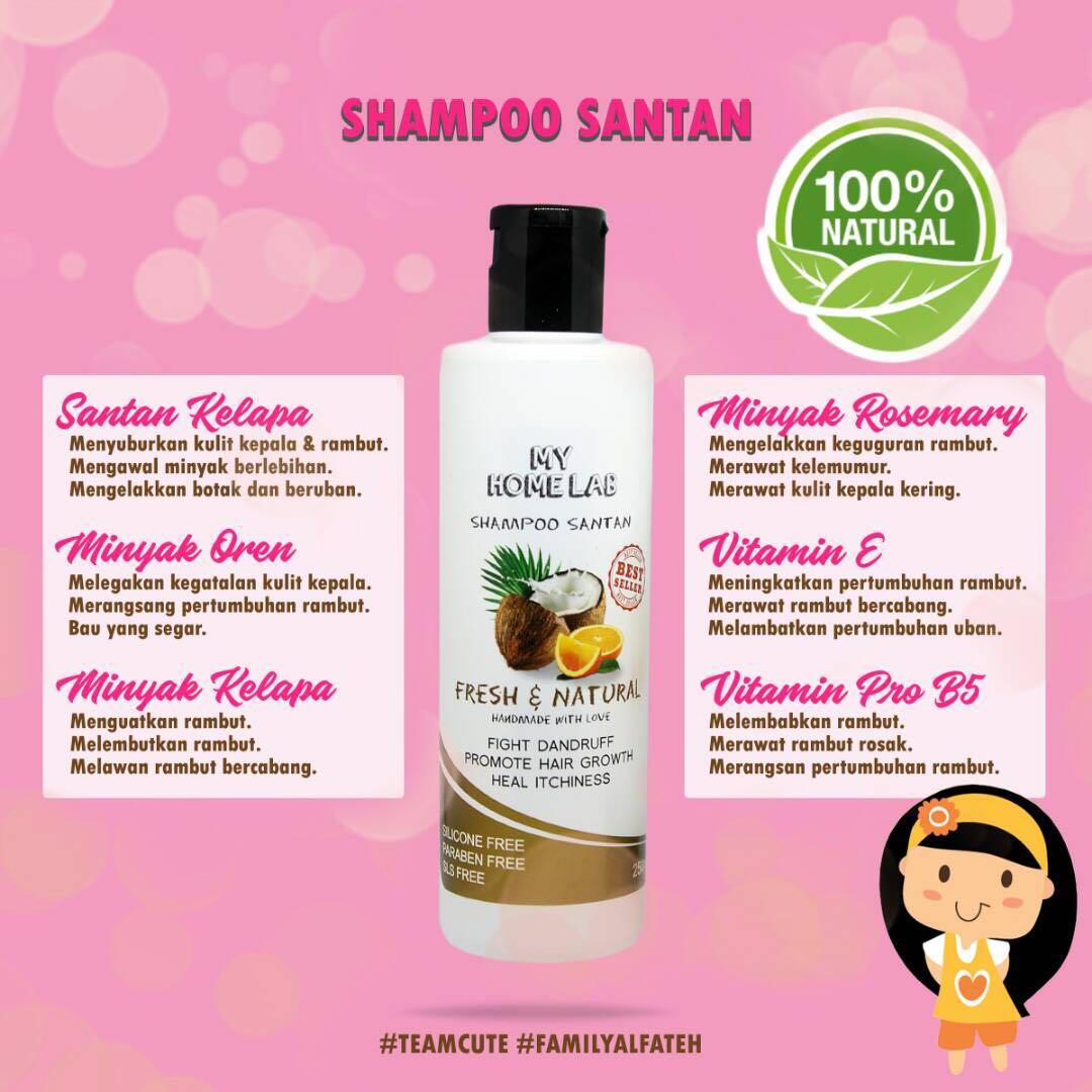 Shampoo Santan