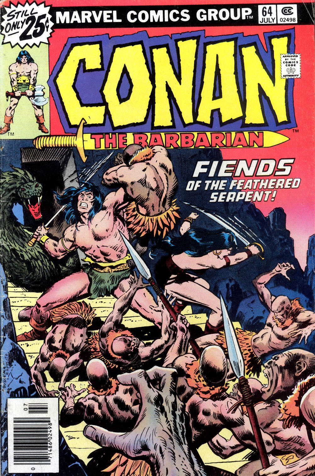 Conan the Barbarian (1970) Issue #64 #76 - English 1
