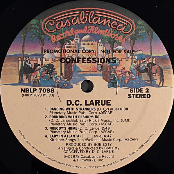 DC LaRue Let Them Dance