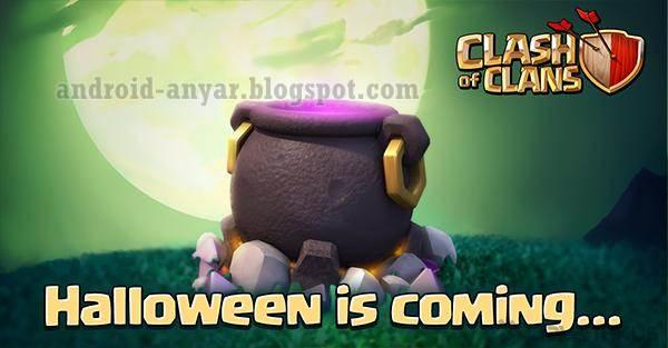 Cara Mendapatkan Halloween Cauldron Obstacle COC dan Apa Isinya Couldron Halloween Clash of Clans