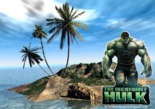 The Incredible Hulk Desktop Wallpaper Hulk The Movie at 3D Island