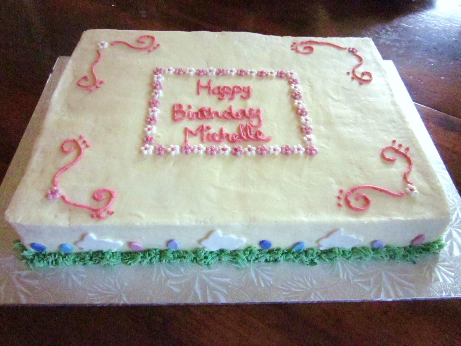 Second Generation Cake Design Easter Birthday Cake
