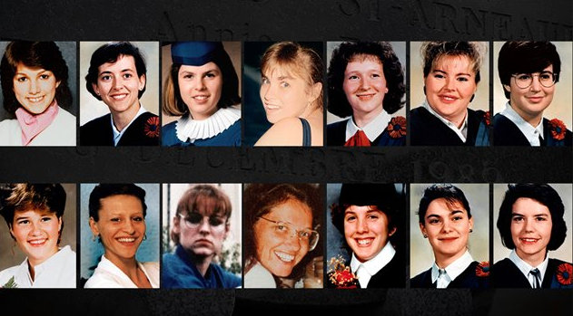 the montreal massacre in 1989 Polytechnique is a 2009 canadian drama film directed by denis villeneuve and written by villeneuve and jacques davidts set in montreal , quebec and based on the école polytechnique massacre (also known as the montreal massacre), the film re-enacts the events of december 6, 1989, through the eyes of two students who witness a gunman murder.