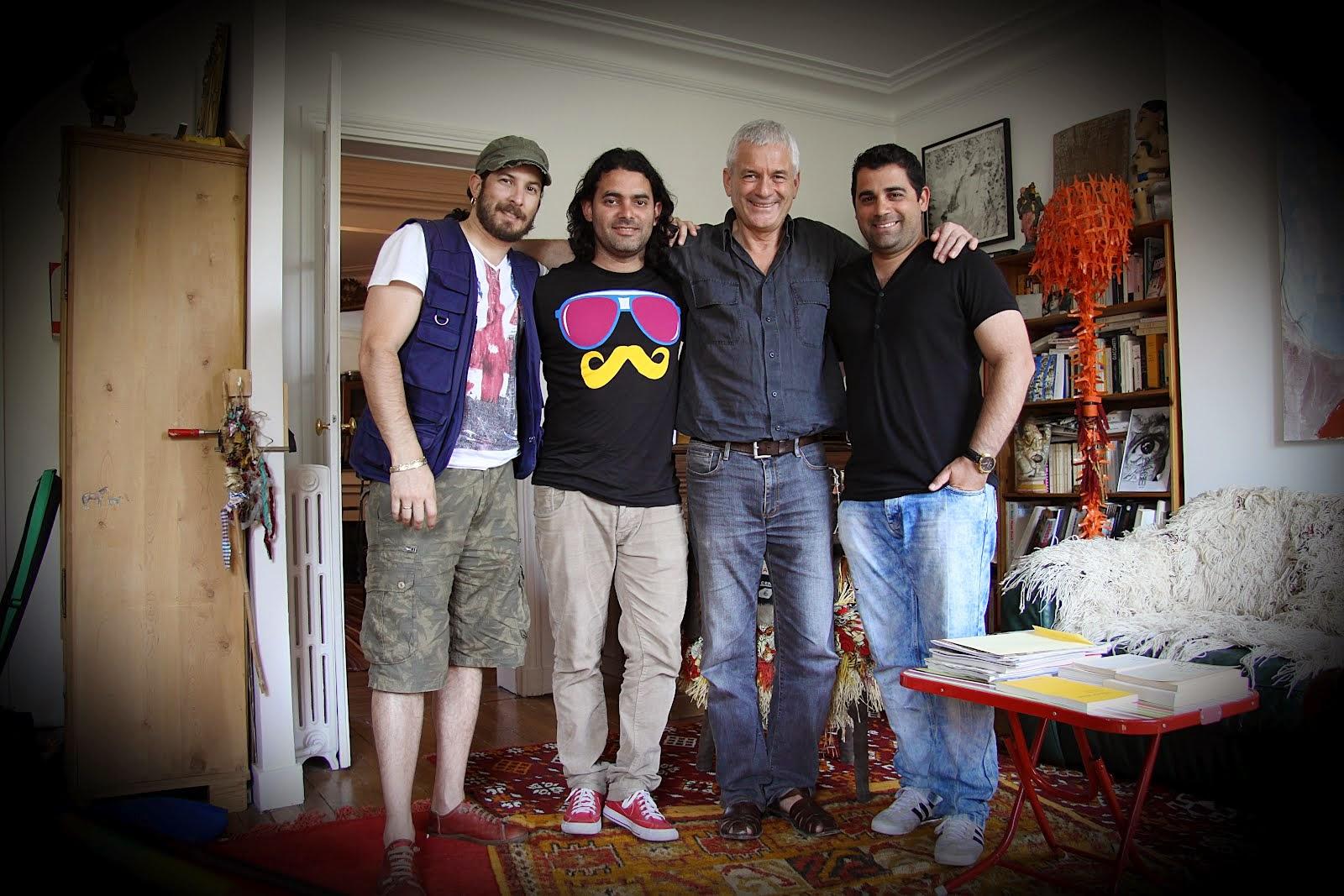 Ricardo Becerra, Carlos_Barba, François Dunoyer y Abel Álvarez