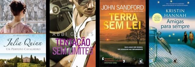 Lançamento livros fevereiro Arqueiro 2014