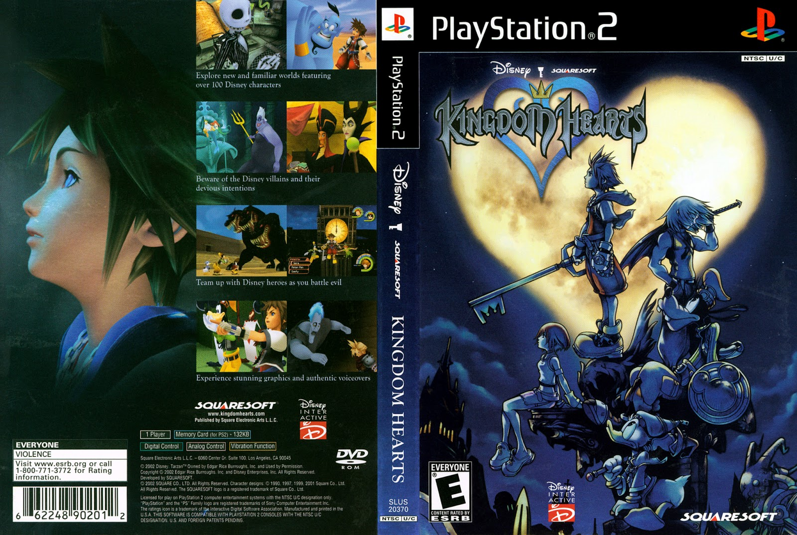 Download Game Ps2 Kingdom Hearts ISO Psx Free ~ Airlandzz.com