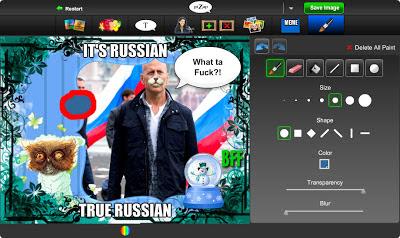 рисование на фотографии в бесплатном онлайн фото редакторе piZap для новичков