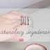 DIY naturalny dezodorant - tylko 3 składniki - ZRÓB TO SAMA! + analiza składu antyperspirantu z Vichy