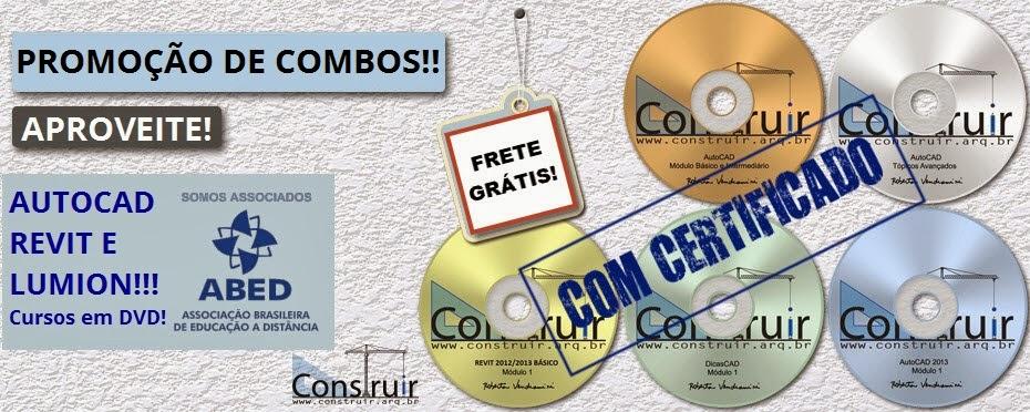 Promoção!! Cursos em DVD com certificado!