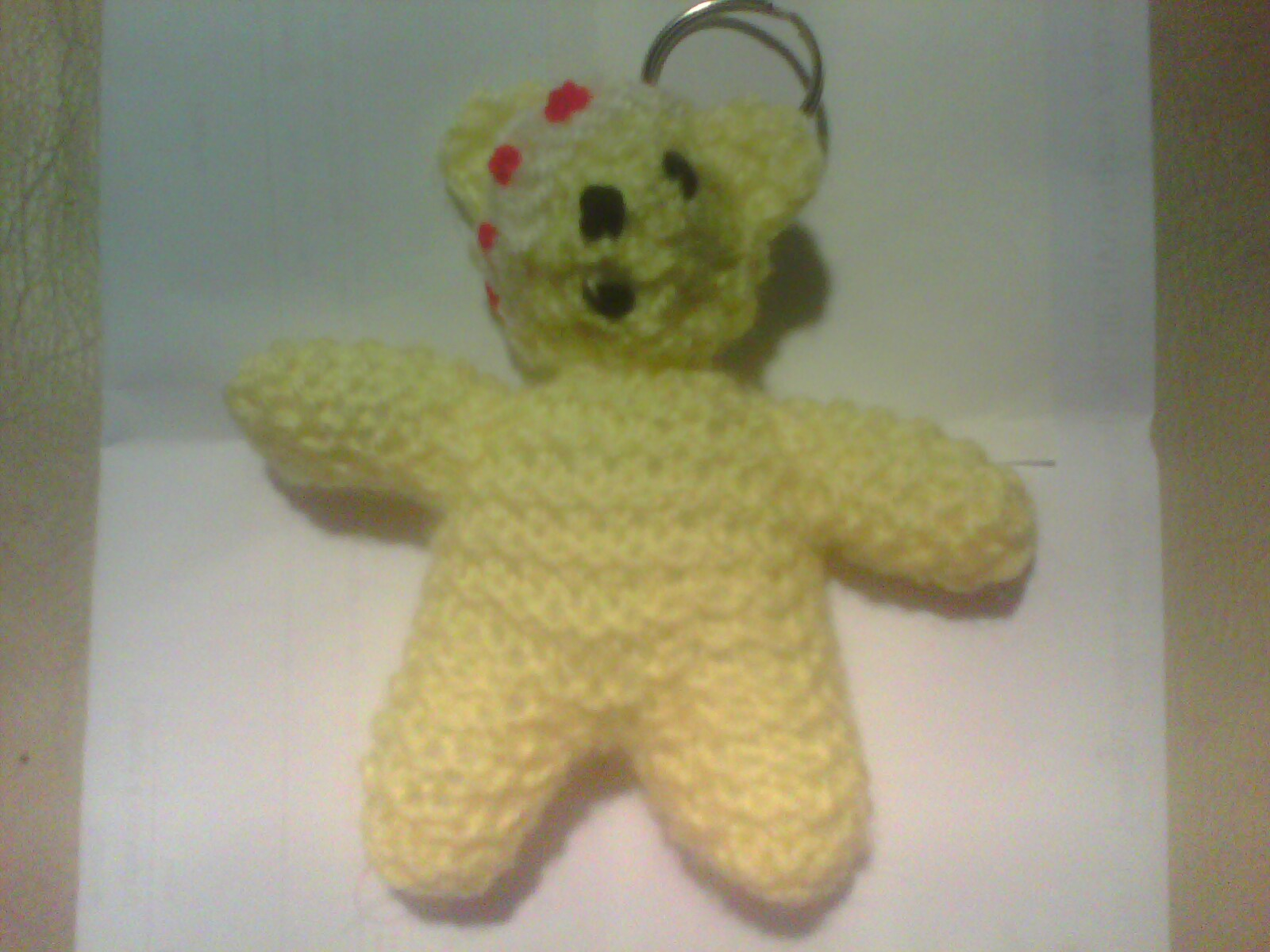 Pudsey Bear Knitting Pattern : HANDMADE BY LILACANGLIA: Pudsey Bear Keyrings - for sale - money goes to CHIL...