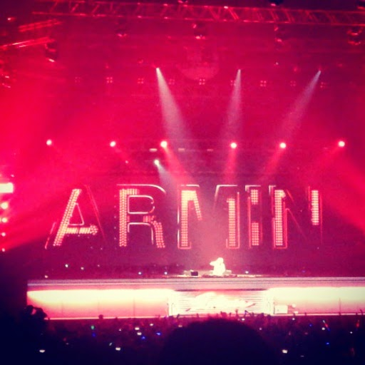 Armin Only Intense Tour Live in Manila 2014 - Stage