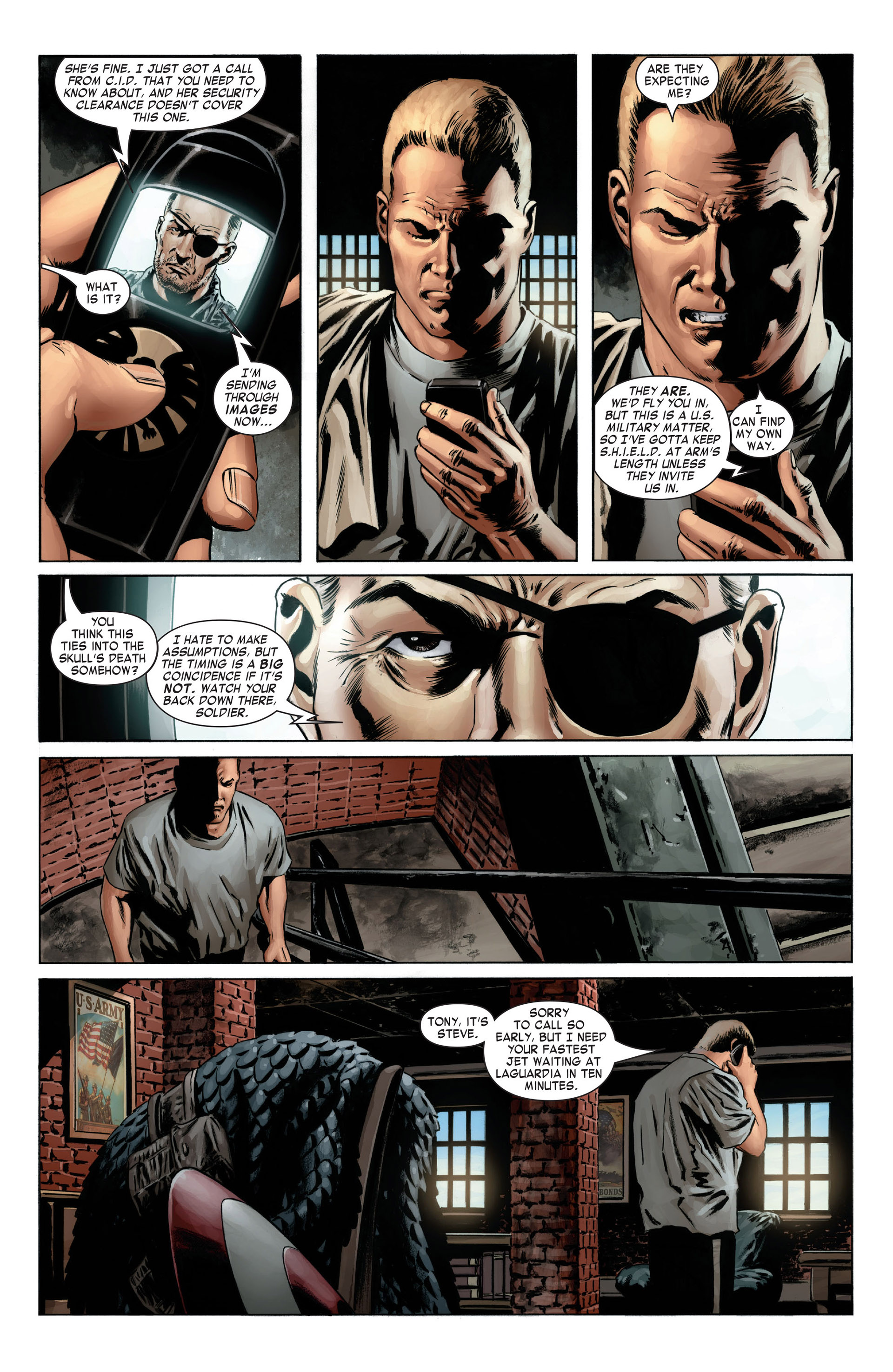 Captain America (2005) Issue #4 #4 - English 4